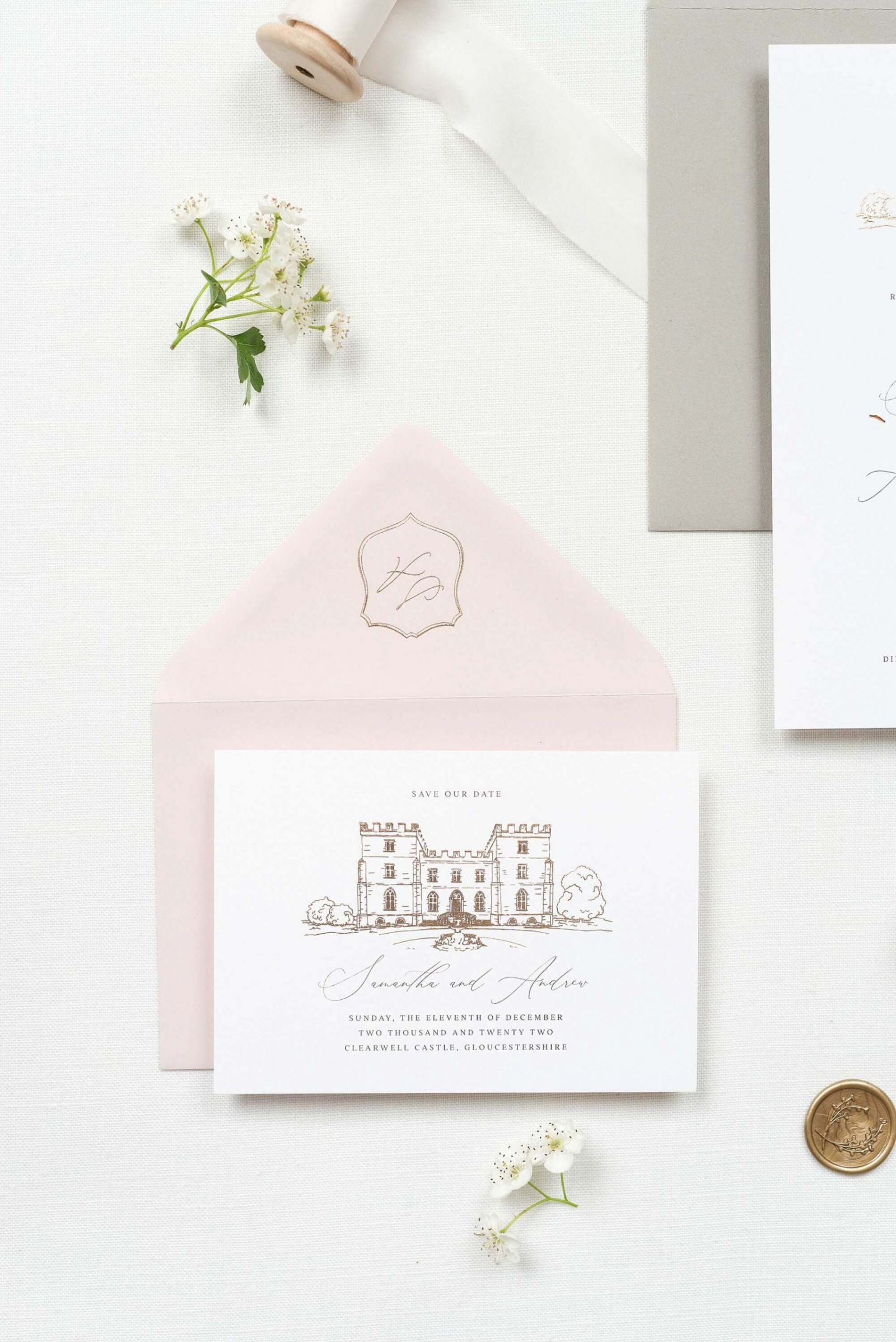 Fine Art Luxury wedding stationery