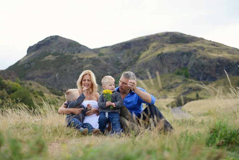 natural family portrait photography Scotland