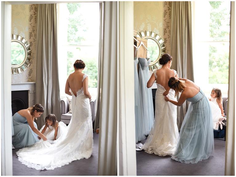 bridal preparation Morden Hall