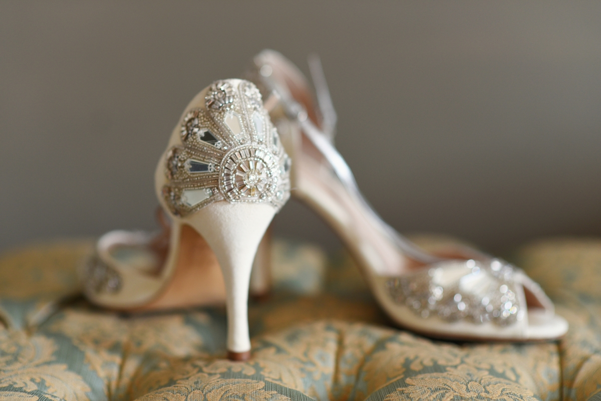 Emmy London luxury wedding shoes