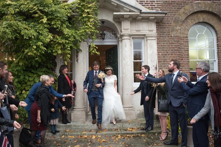 Wedding photography in Morden Park House