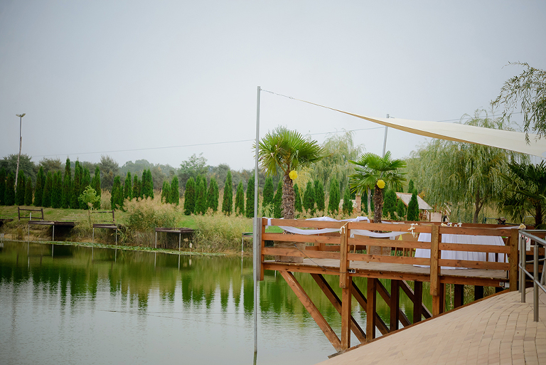 Wedding Venue: Nádas Resting and Adventure Park with a lake