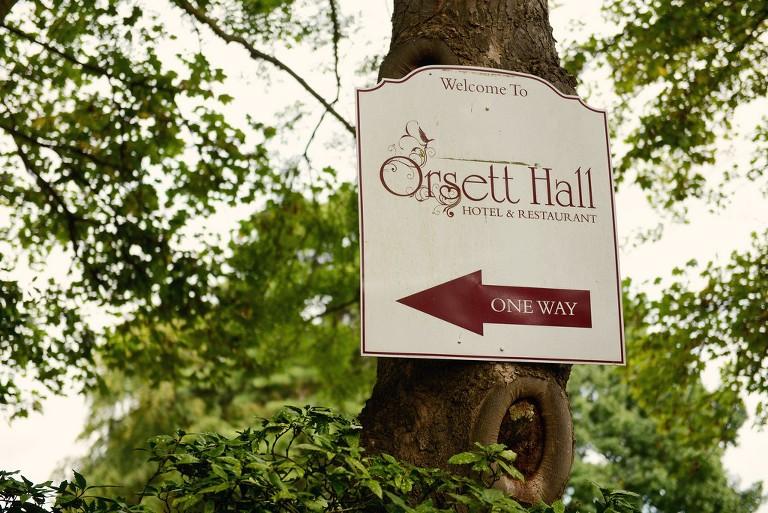 sign of Orsett Hall London