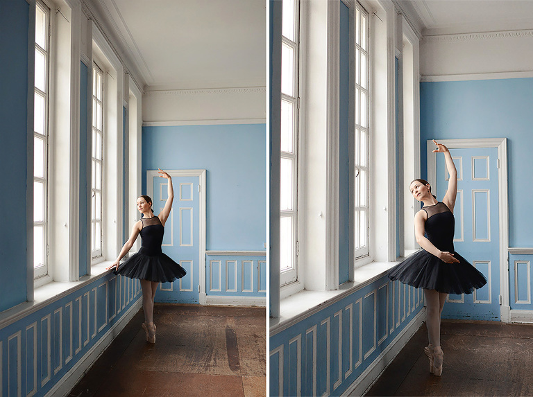 Alice Ballet Dancer Professional Portfolio Photography In