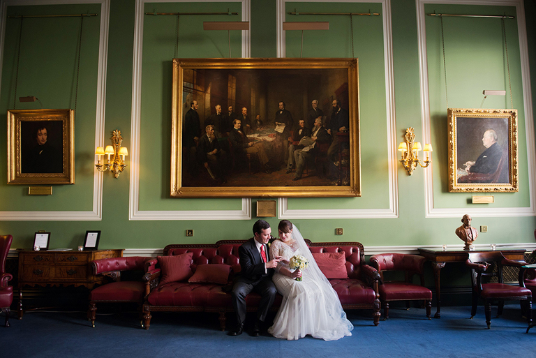 Carlton Club Wedding in London Mayfair -