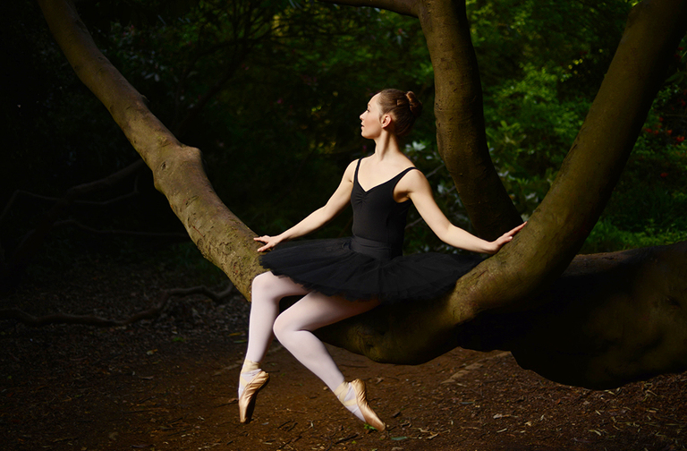 fine art image of ballet dancer