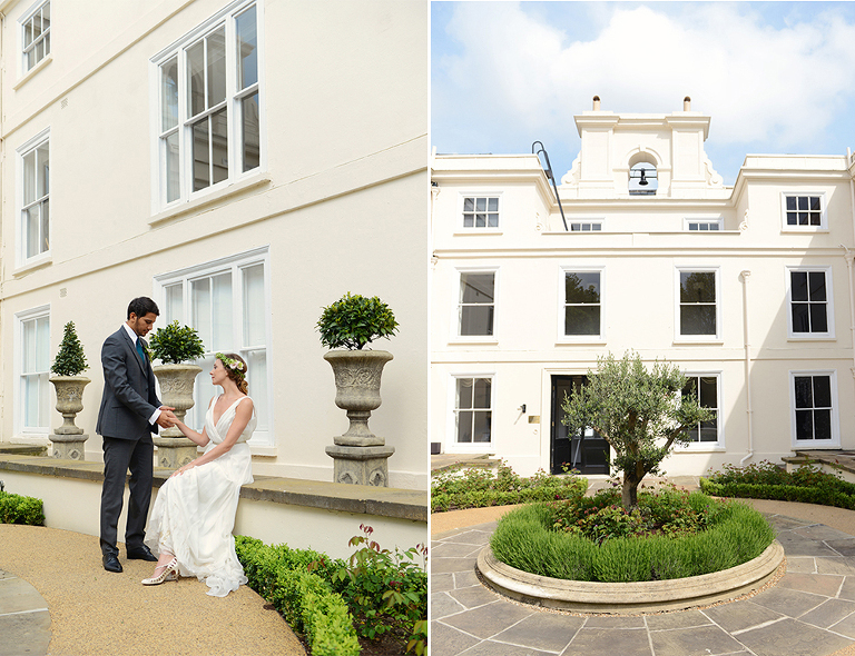 wedding at Morden Hall South London wedding venue