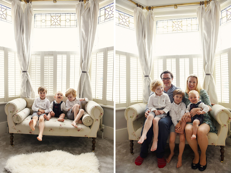 Putney South London family portrait