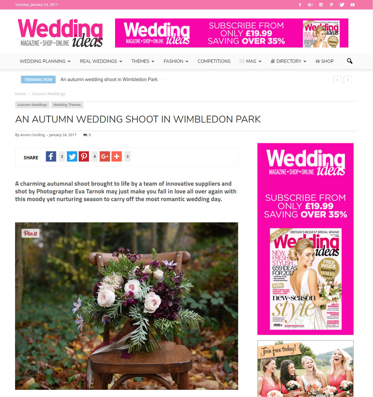 Wedding Ideas publication