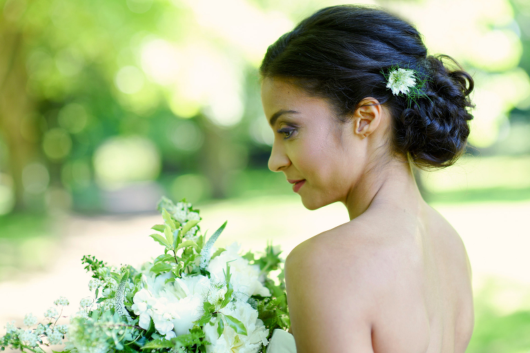 bridal portrait Wimbledon