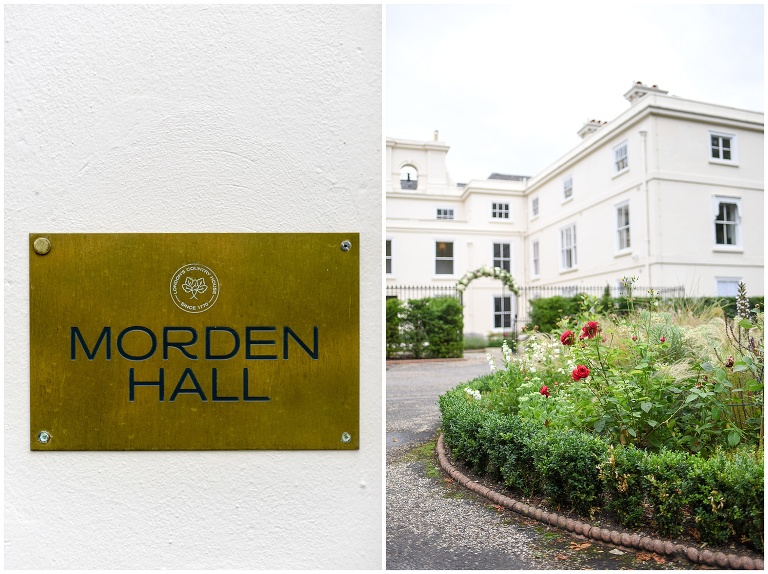 entrance of Morden Hall country house in South London
