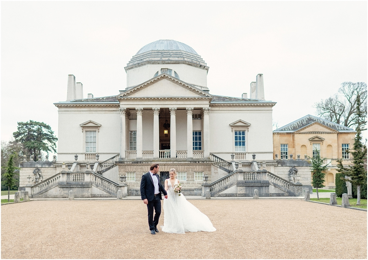 Chiswick House wedding photographer