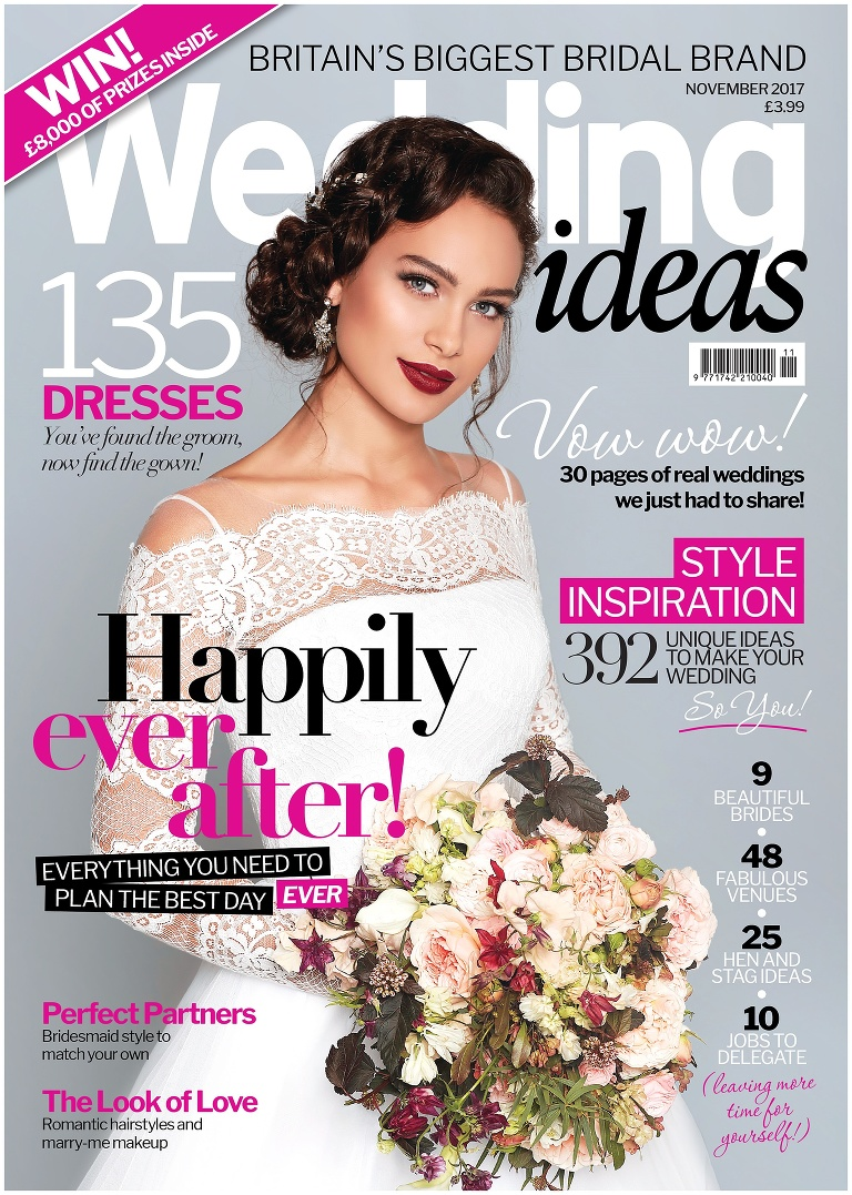 Wedding Ideas magazine publication