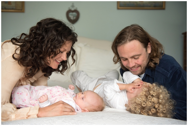 relaxed family portraits London