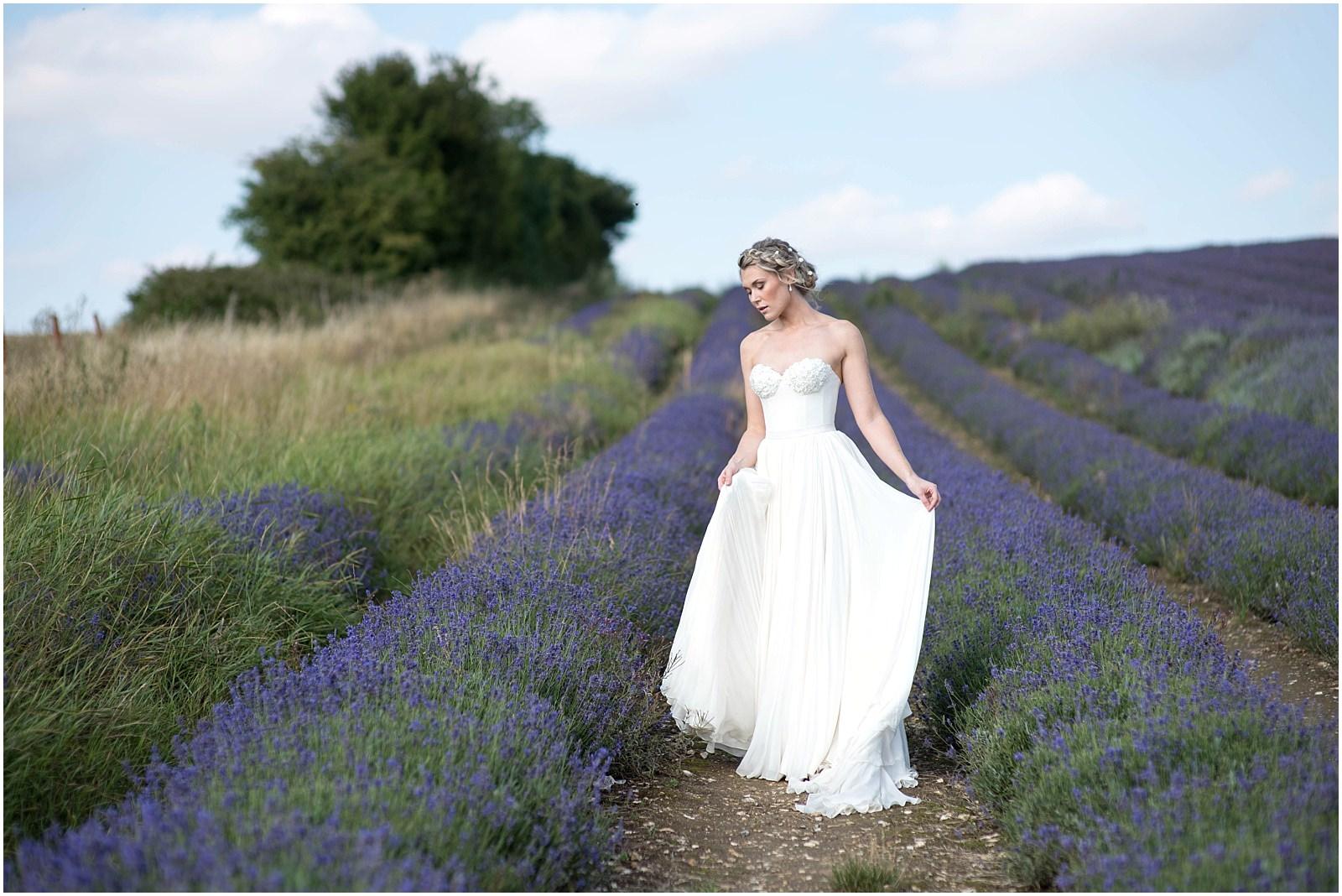 lavender field wedding photography