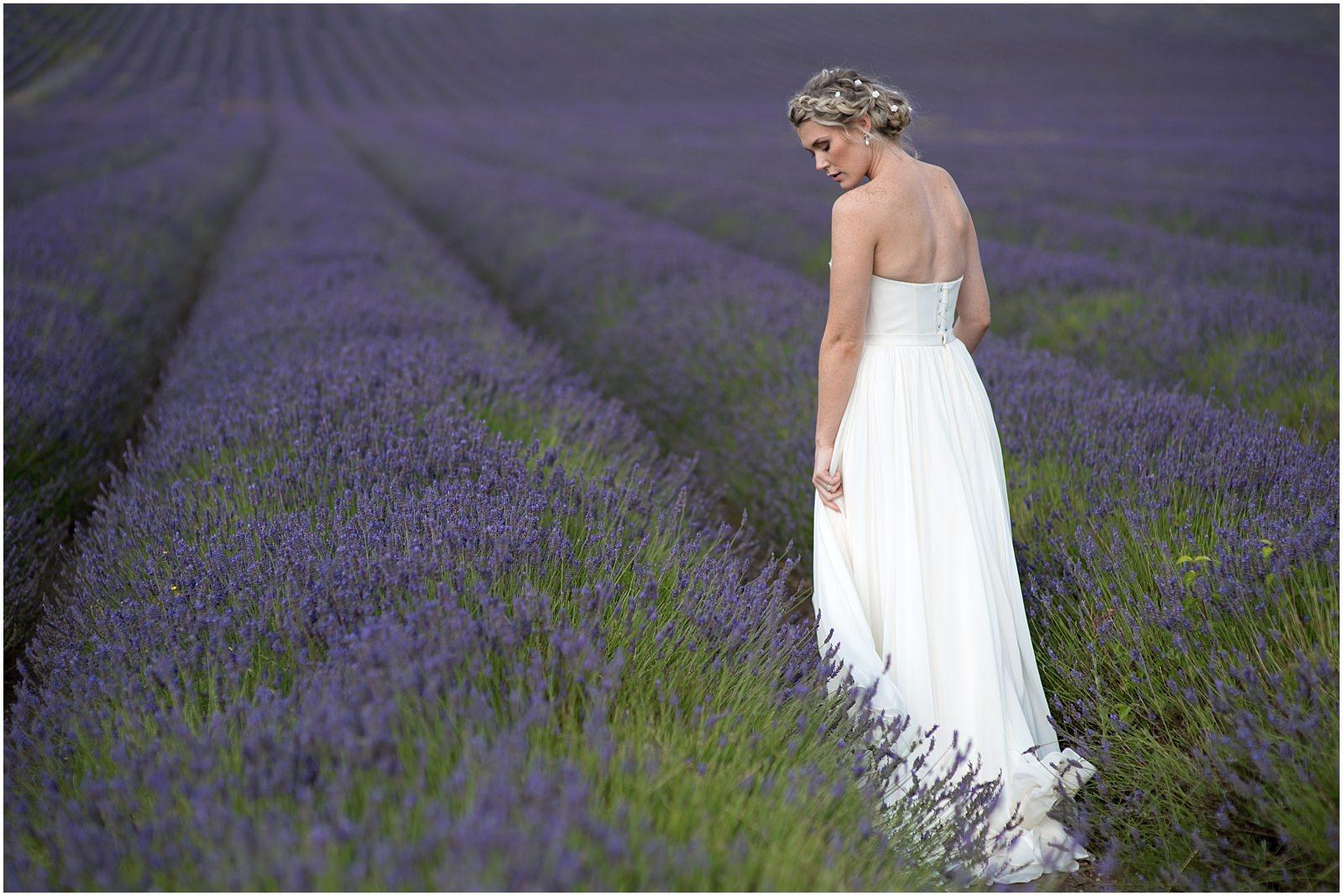 Hitchin lavender bride