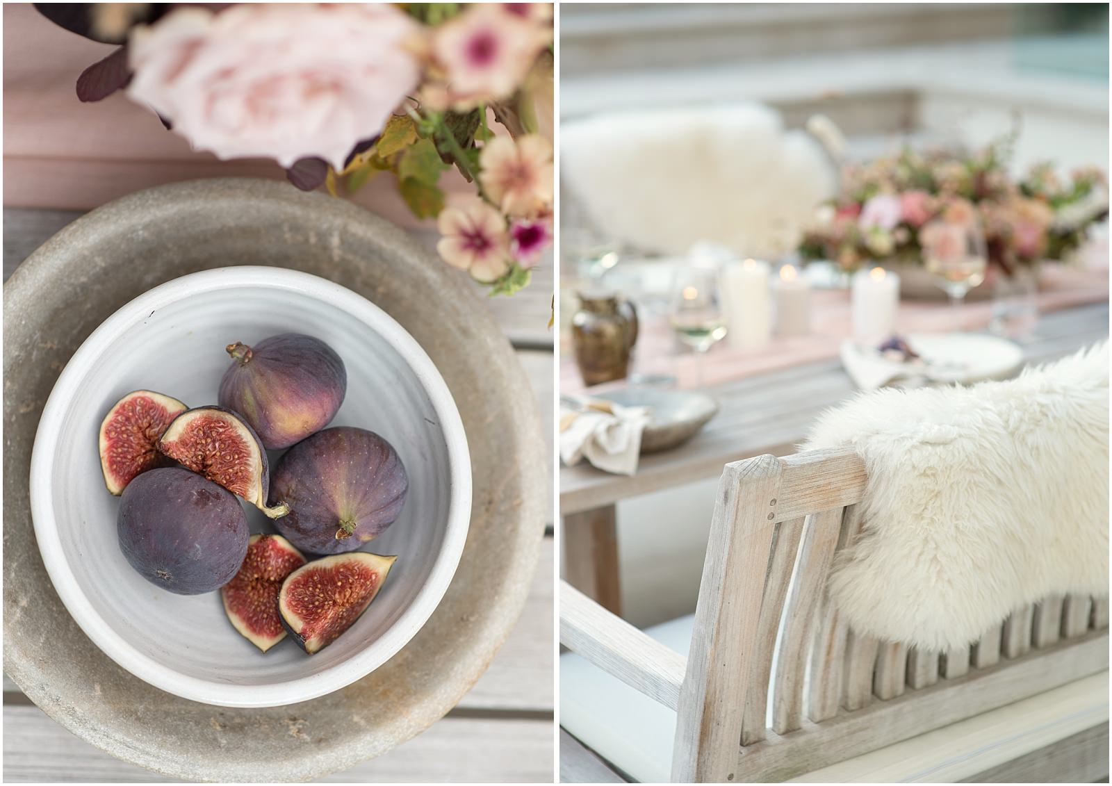 table setting figs