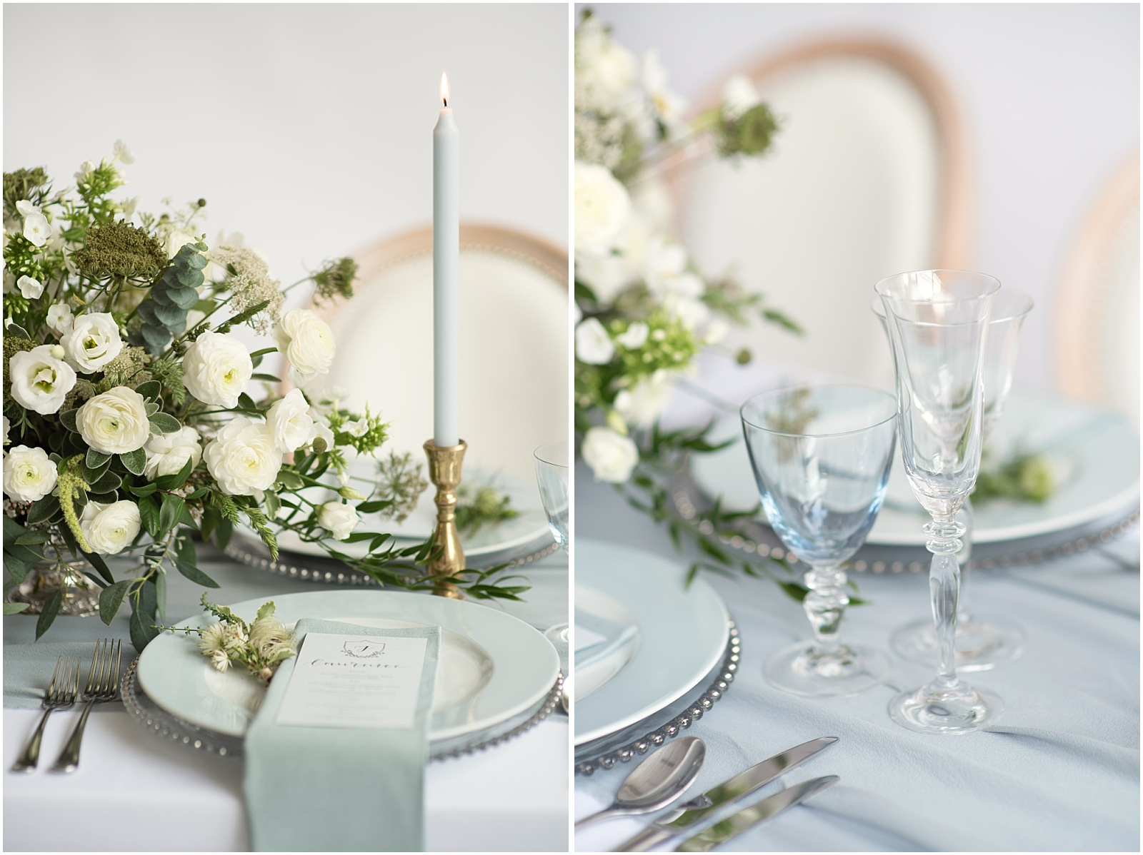 fine art tablescape