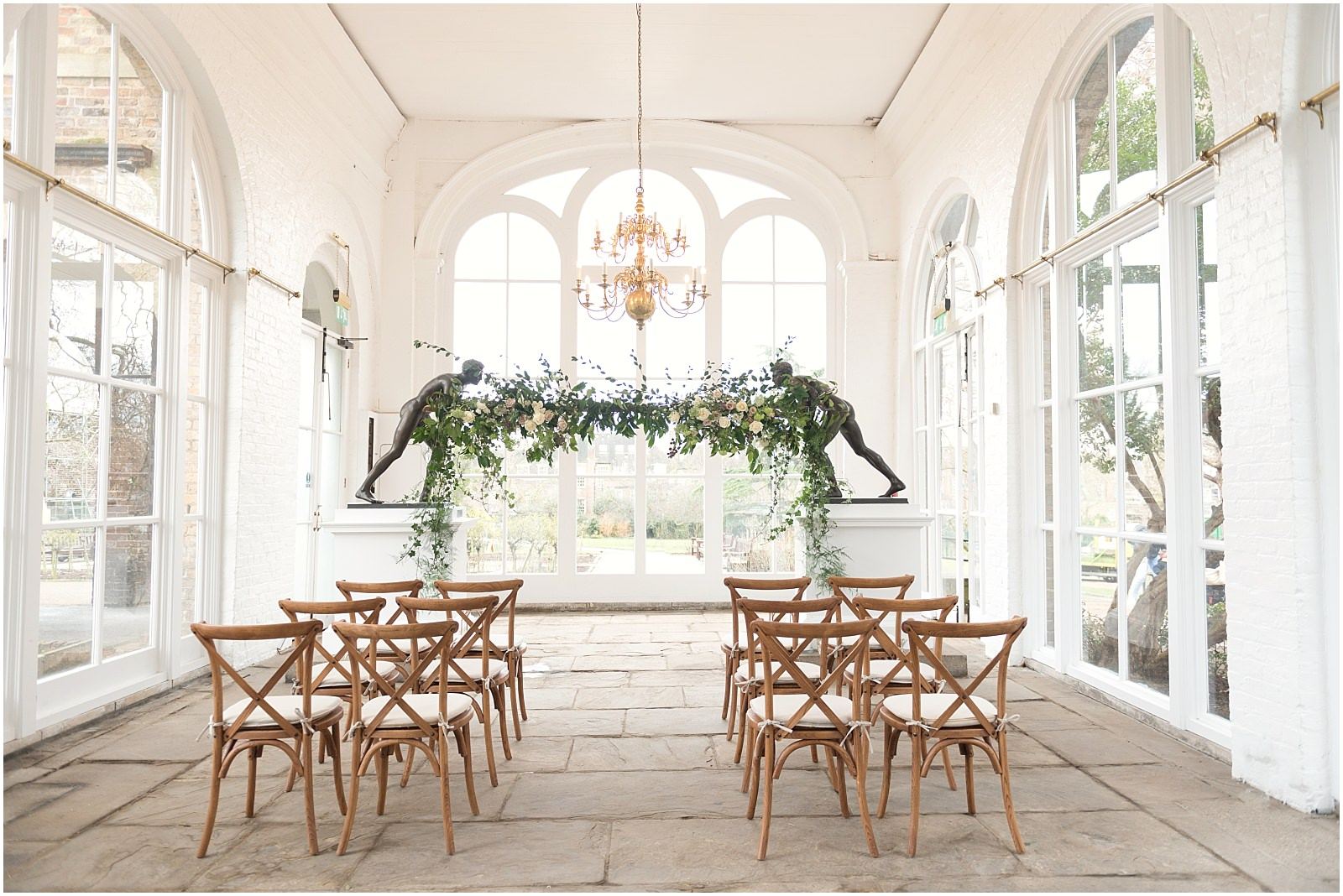 Orangery Holland Park London wedding venue