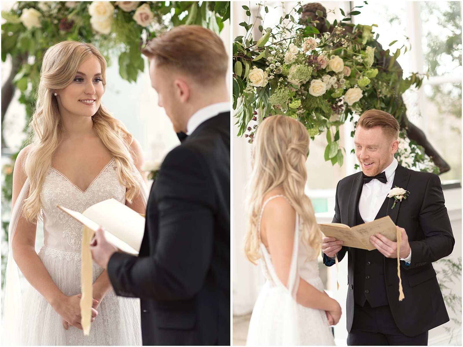 wedding ceremony Orangery Holland Park
