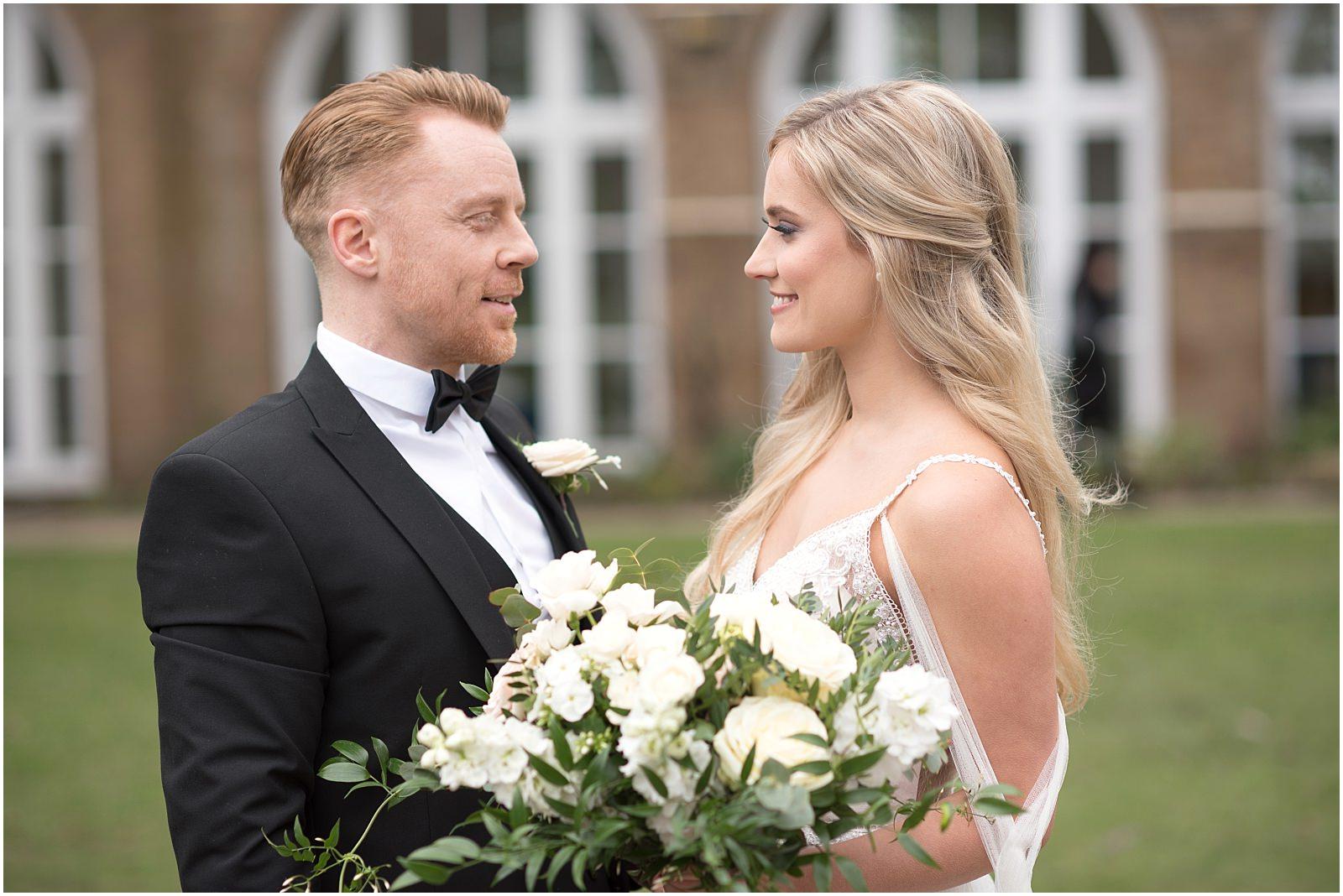 wedding portrait Orangery Holland park