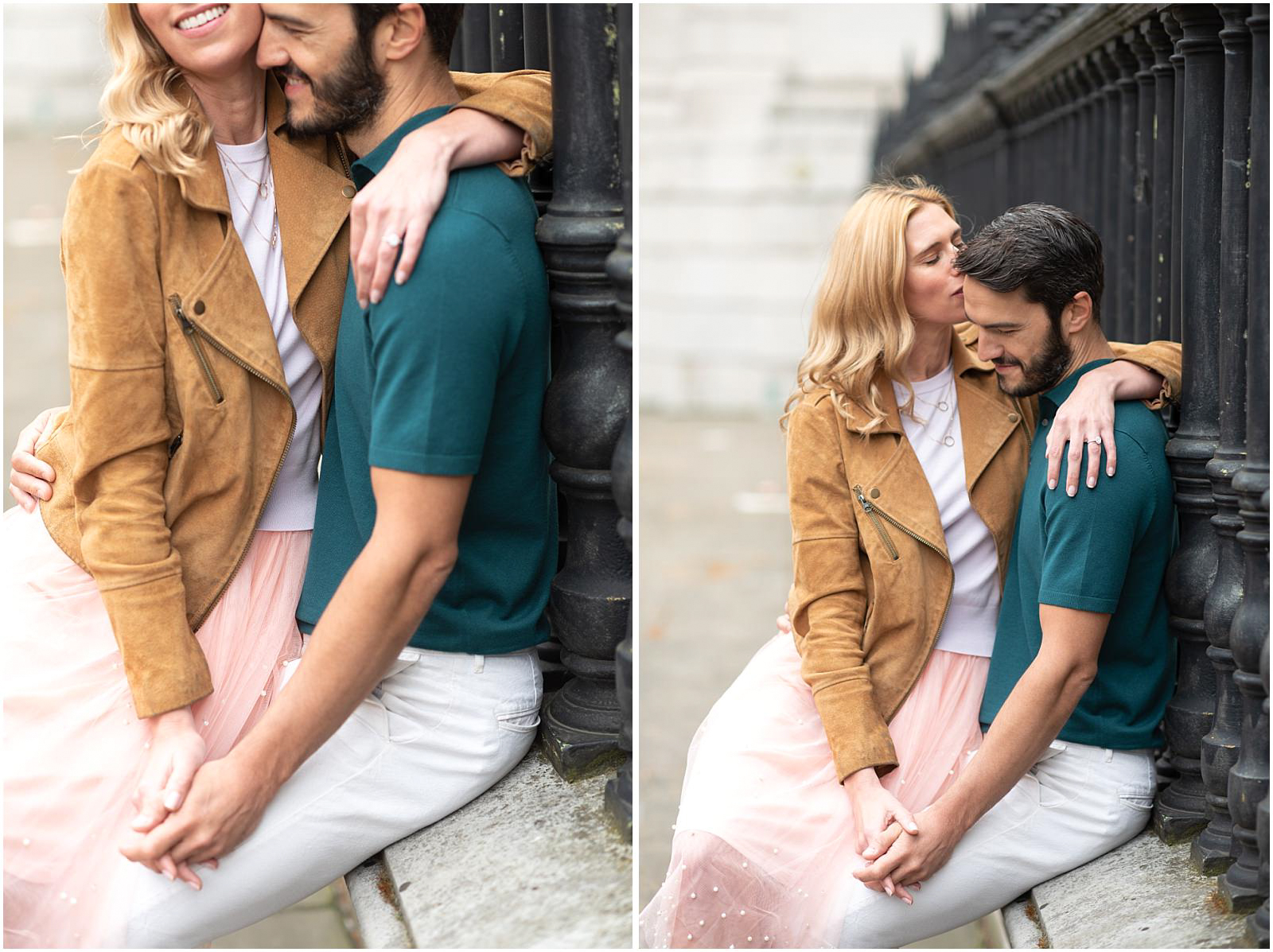 London couple engagement photography st pauls cathedral lifestyle couple portrait