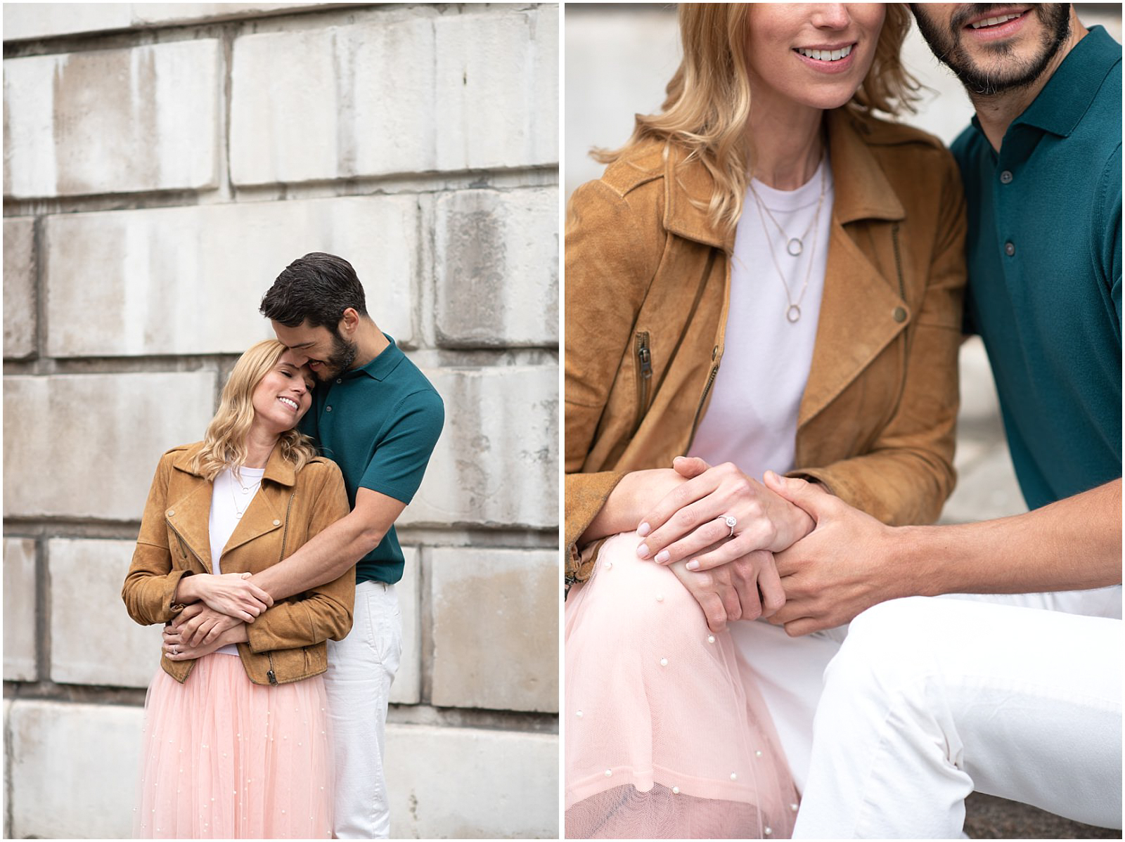 London couple engagement photography st pauls cathedral intimate shoot