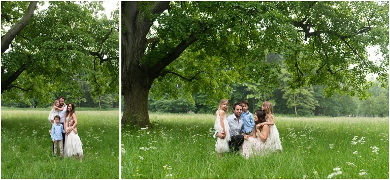 Wimbledon family photography - London lifestyle photographer, family in park