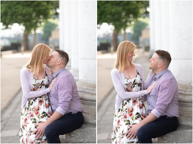 Greenwich engagement shoot London engagement photography
