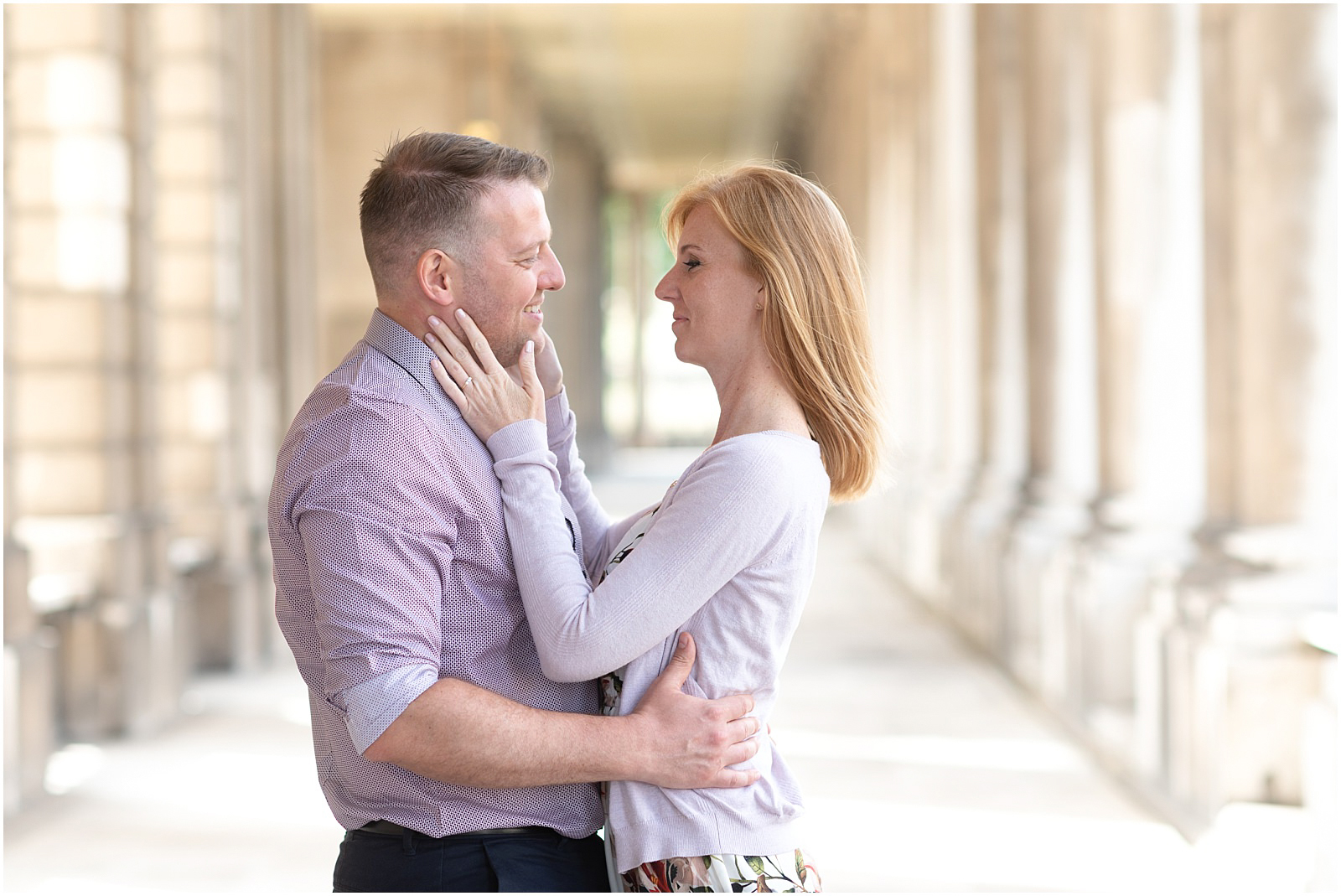London Greenwich couple engagement shoot romantic couple