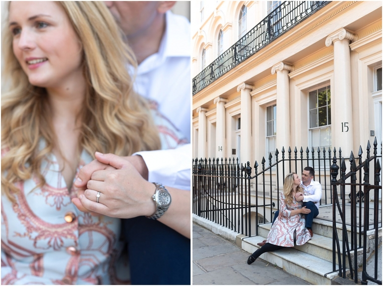 London engagement photography Regents Park