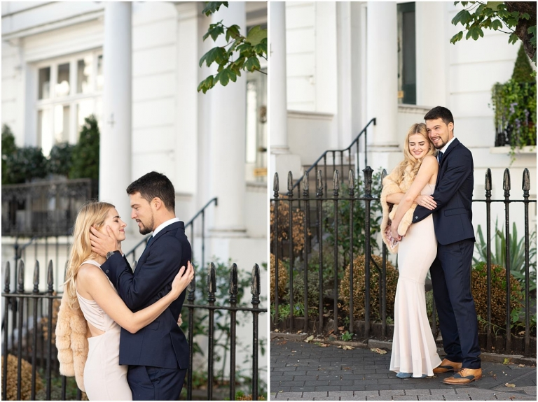 London luxury pre wedding engagement photography