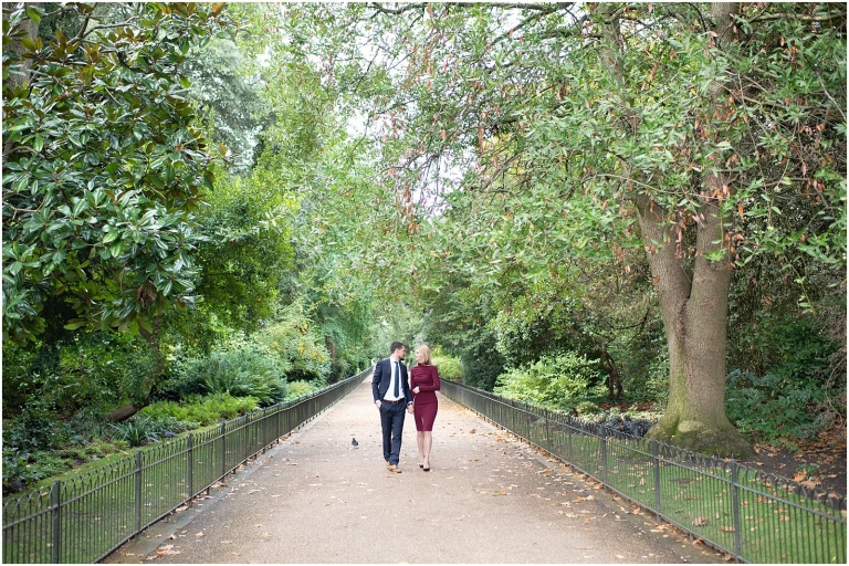luxury London pre wedding engagement photography