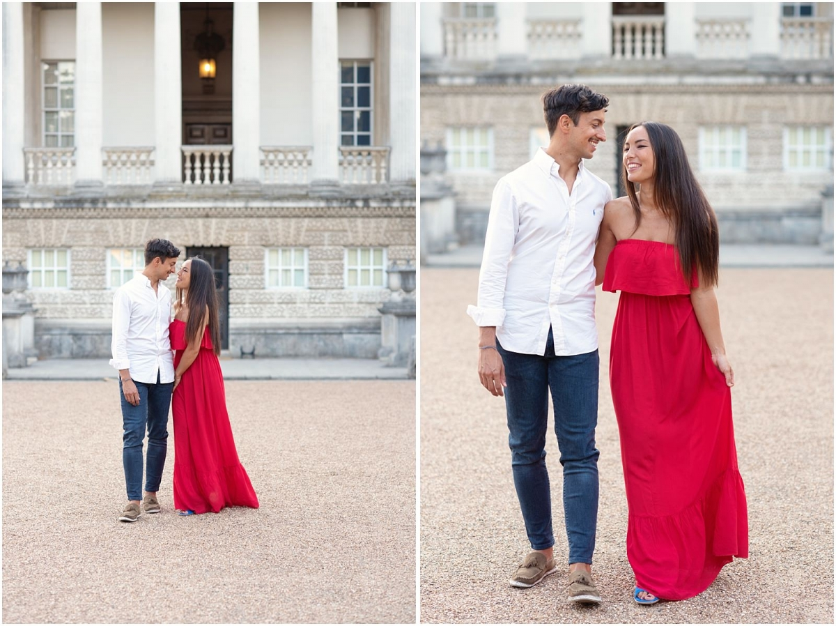 Chiswick House pre wedding photography