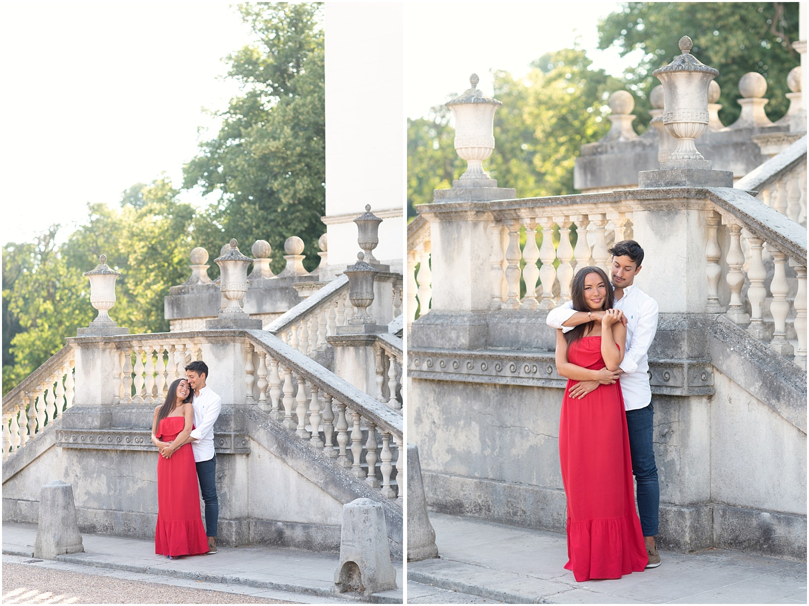 Chiswick House sunset pre wedding photography