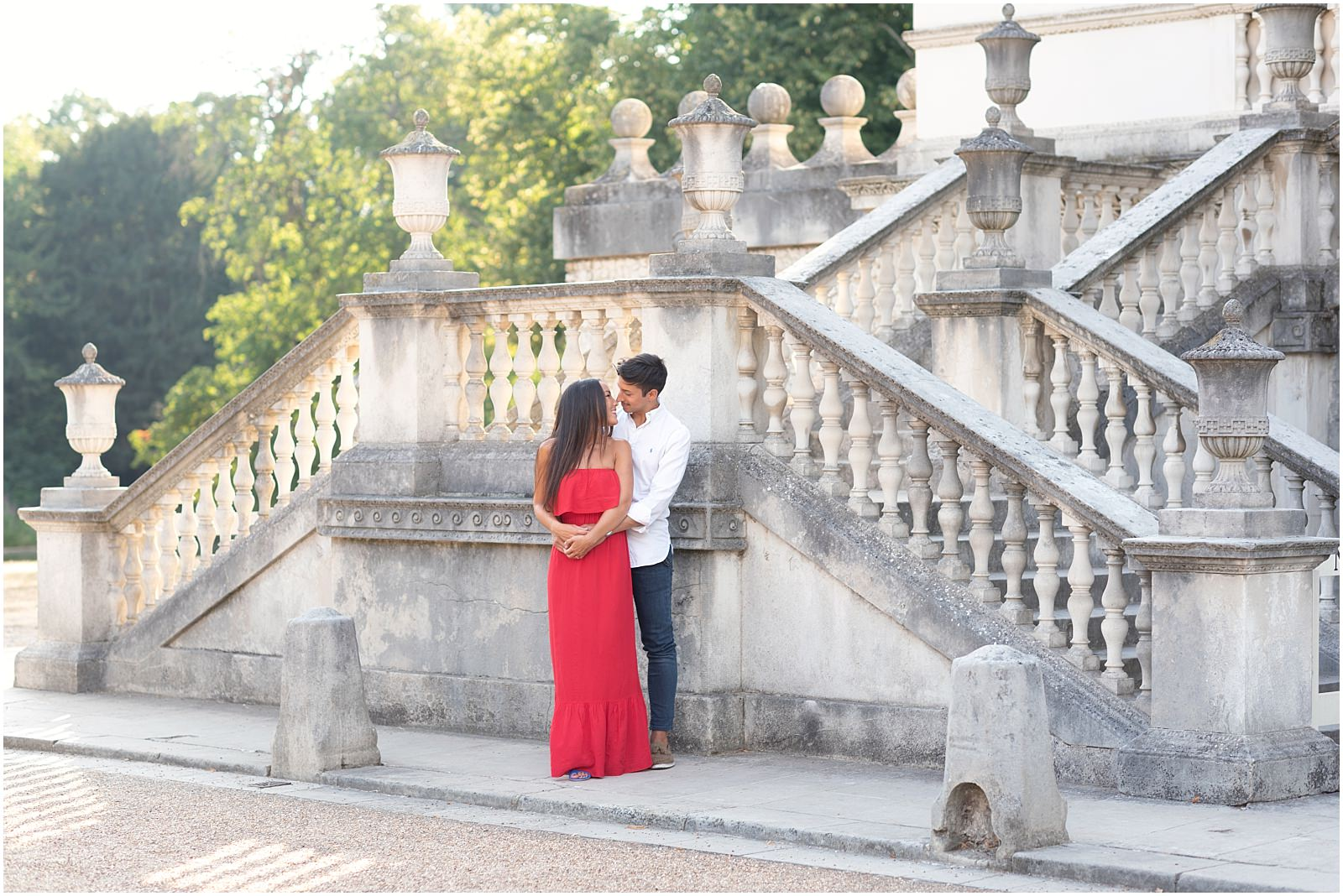 Chiswick House engagement photography
