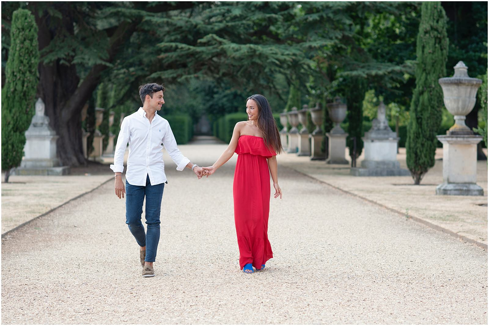 London Chiswick House and Gardens engagement