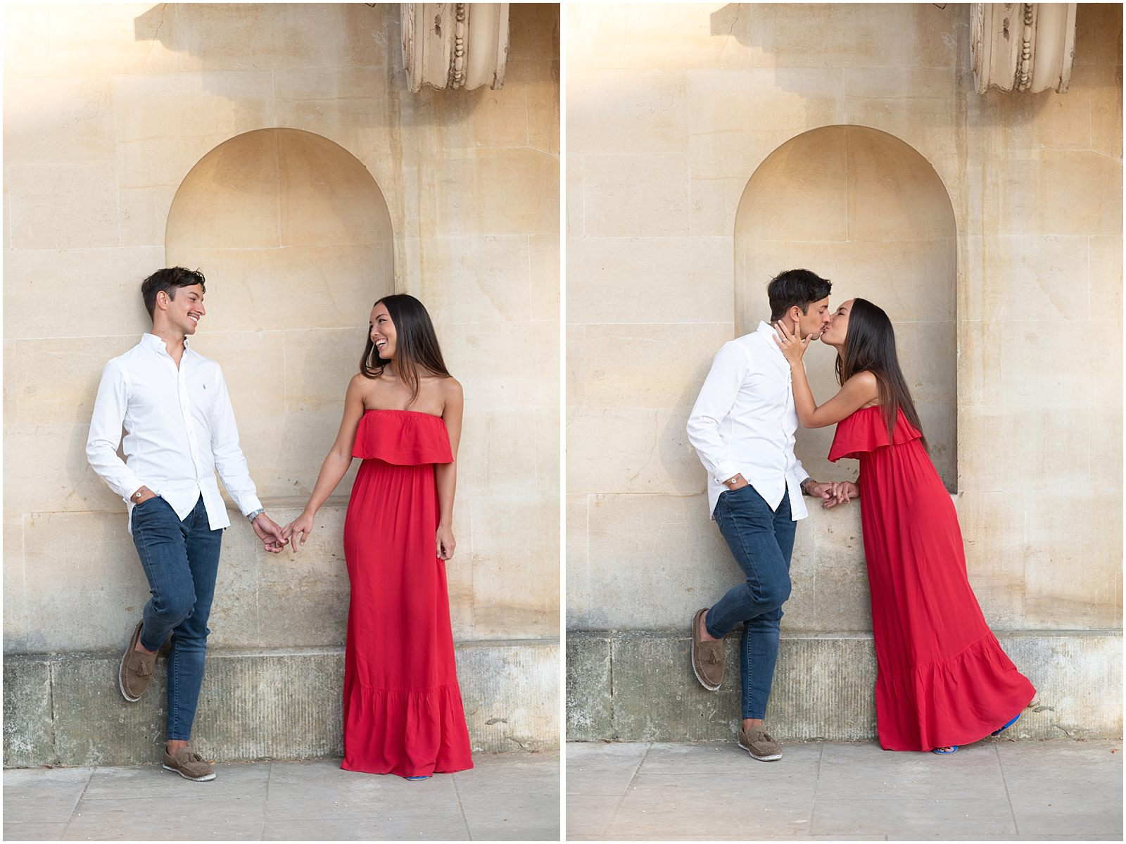 London pre wedding photography in Chiswick House