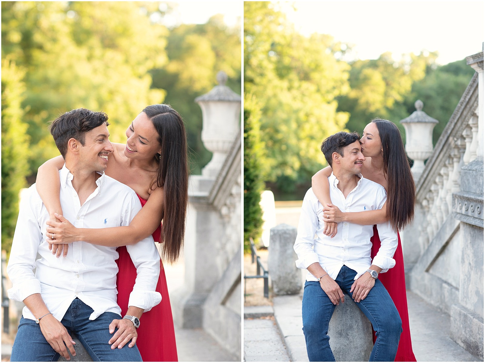 luxury pre wedding photography in Chiswick House