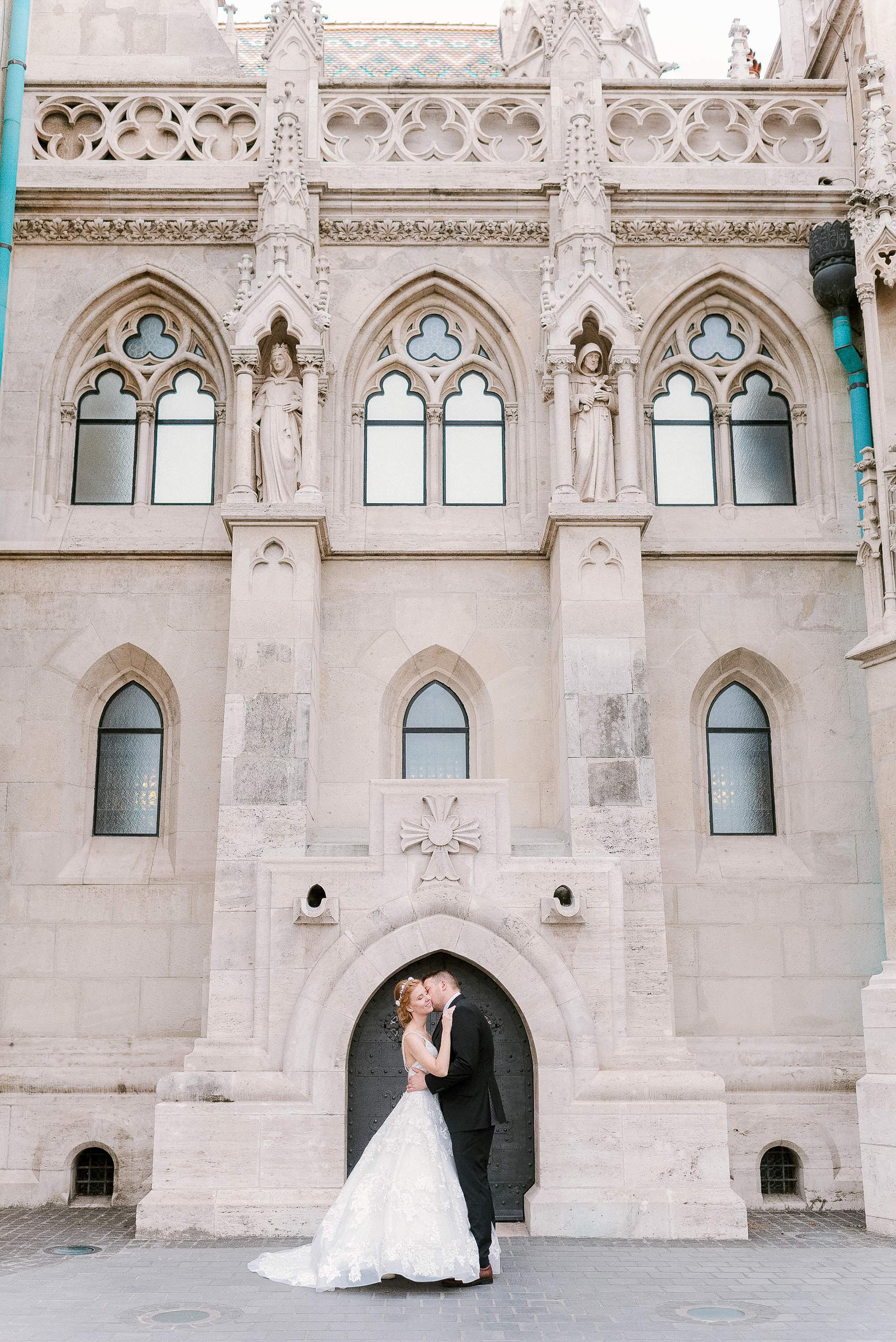 destination wedding photography by Buda Castle