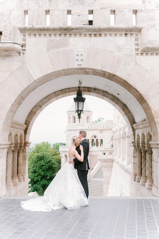 luxury destination wedding in Budapest