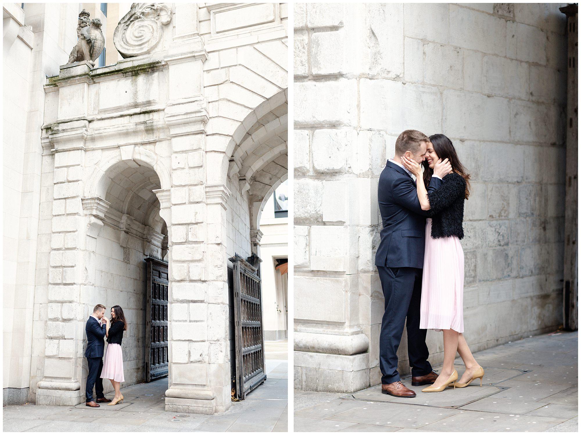 Fine art London Engagement Shoot