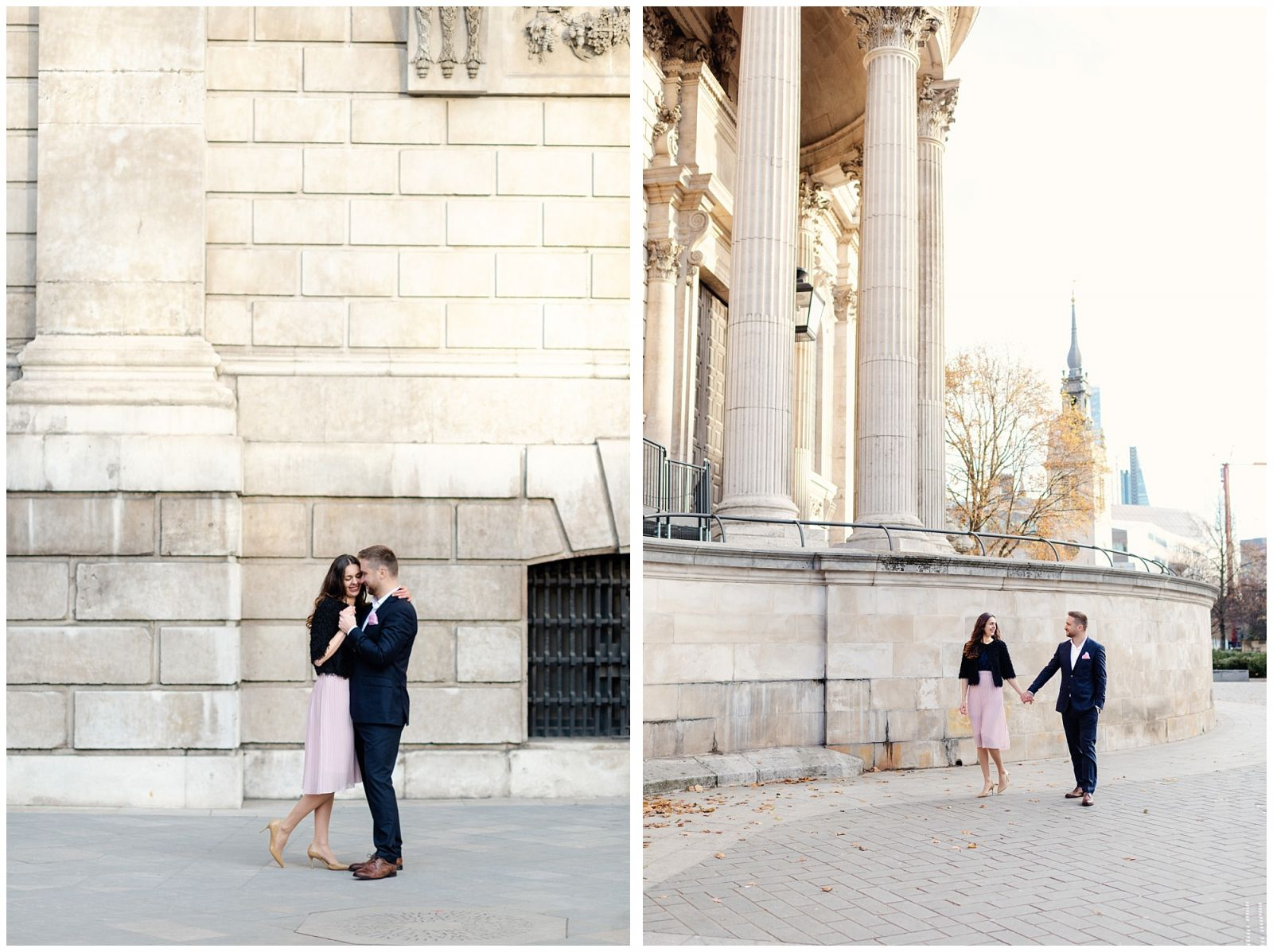 Fine art London Engagement Shoot
