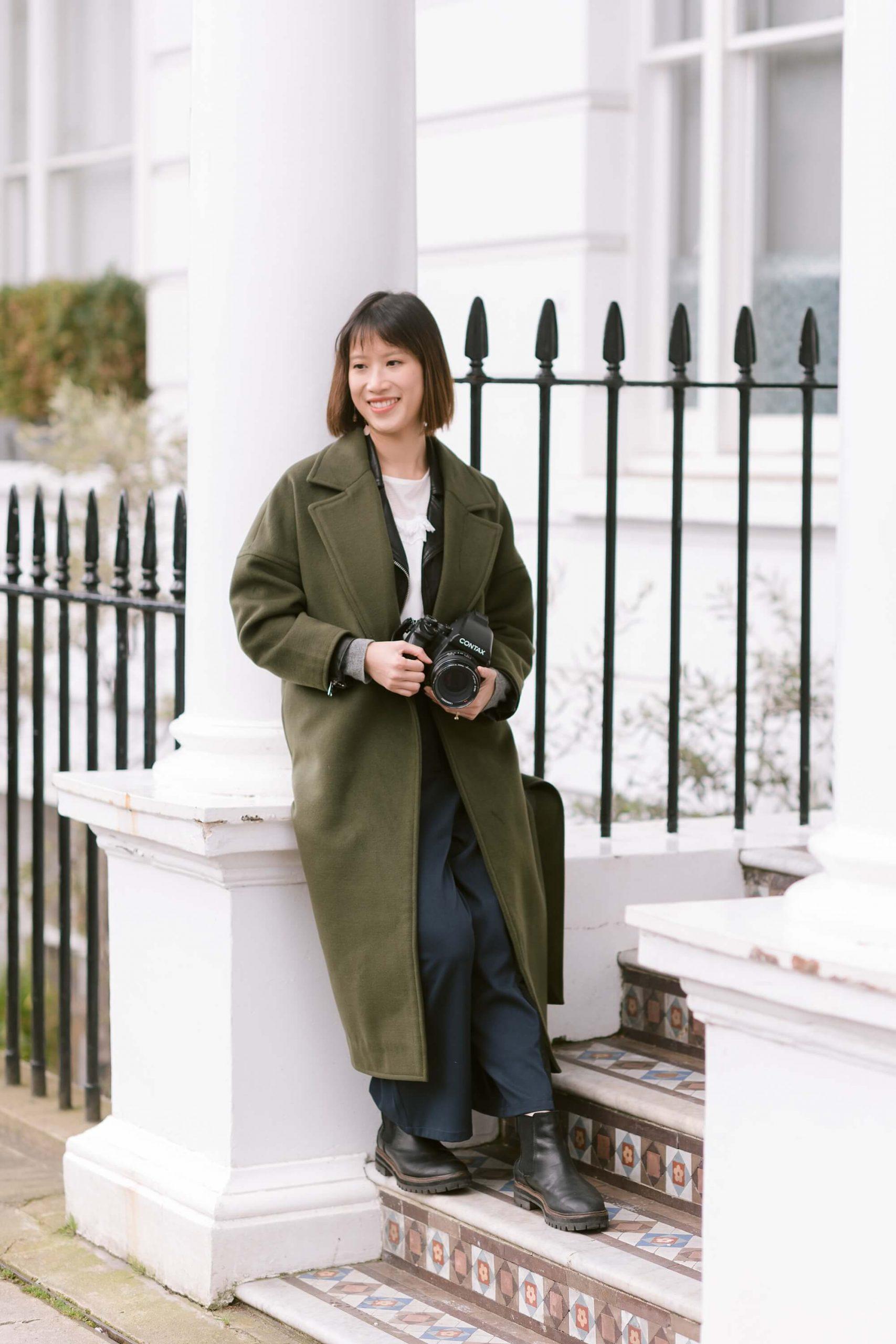 London personal branding by Eva Tarnok luxury photographer