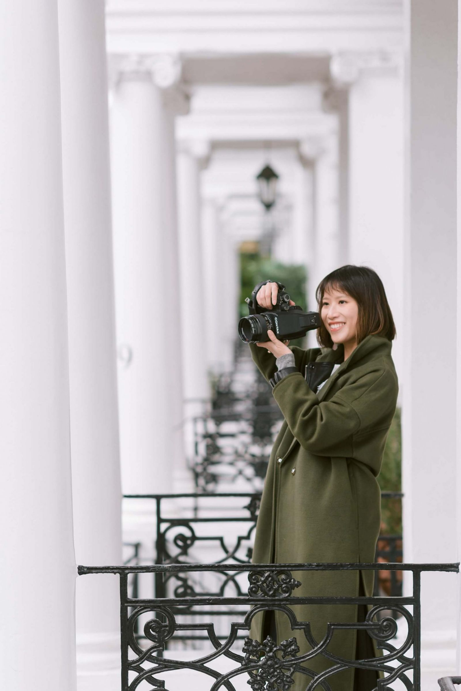 London personal branding photography for Terry Li fine art photographer