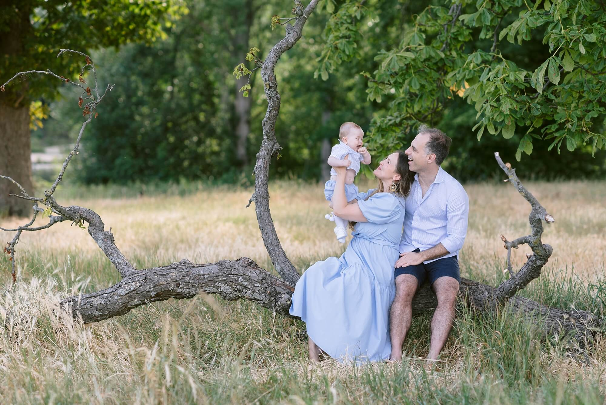 natural London Baby Family Photography