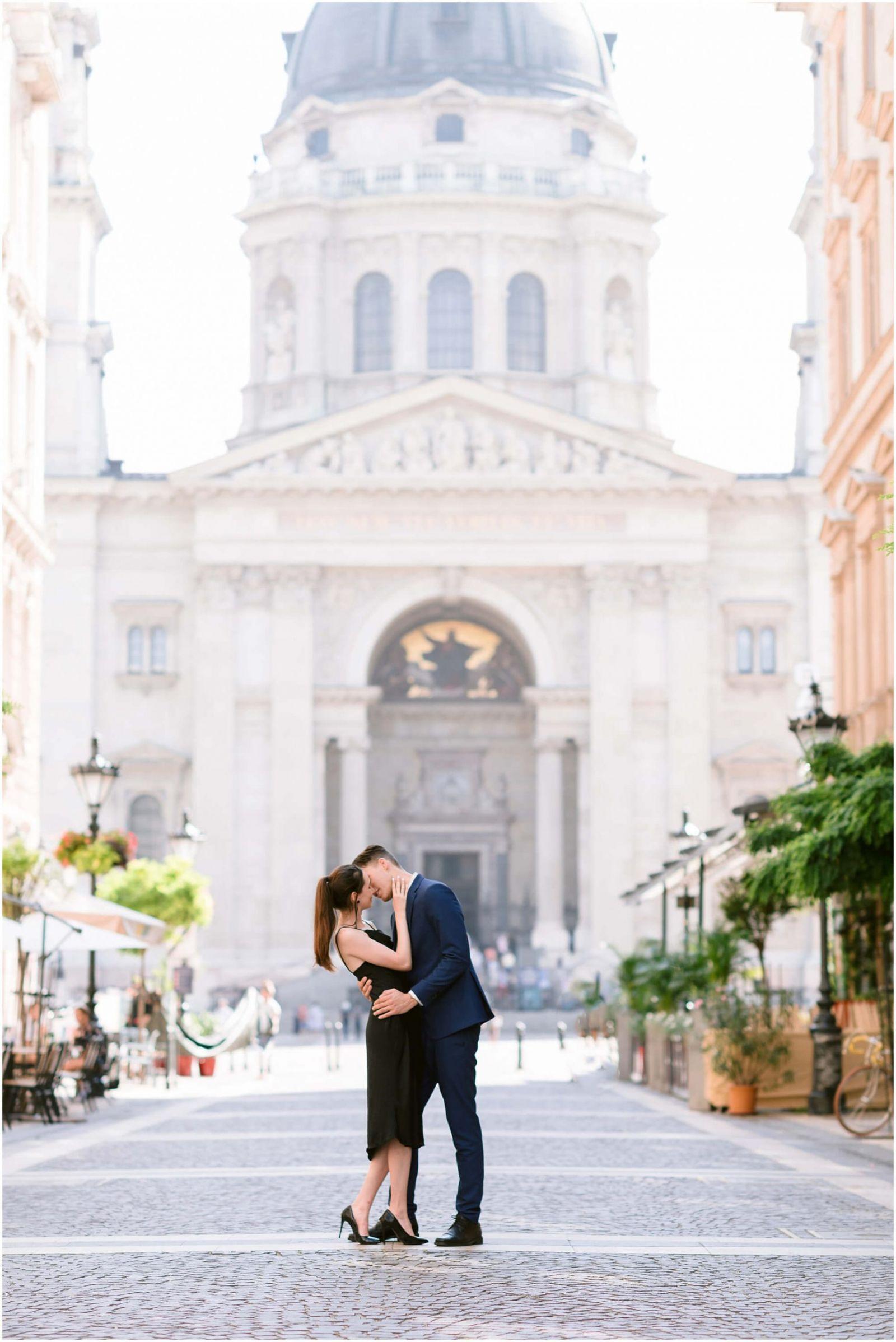Budapest engagement pre wedding photographer