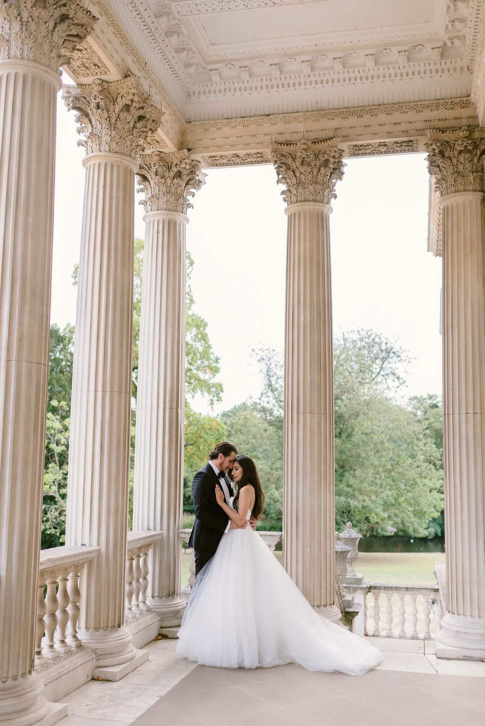 Chiswick House wedding photographer Fine Art bride