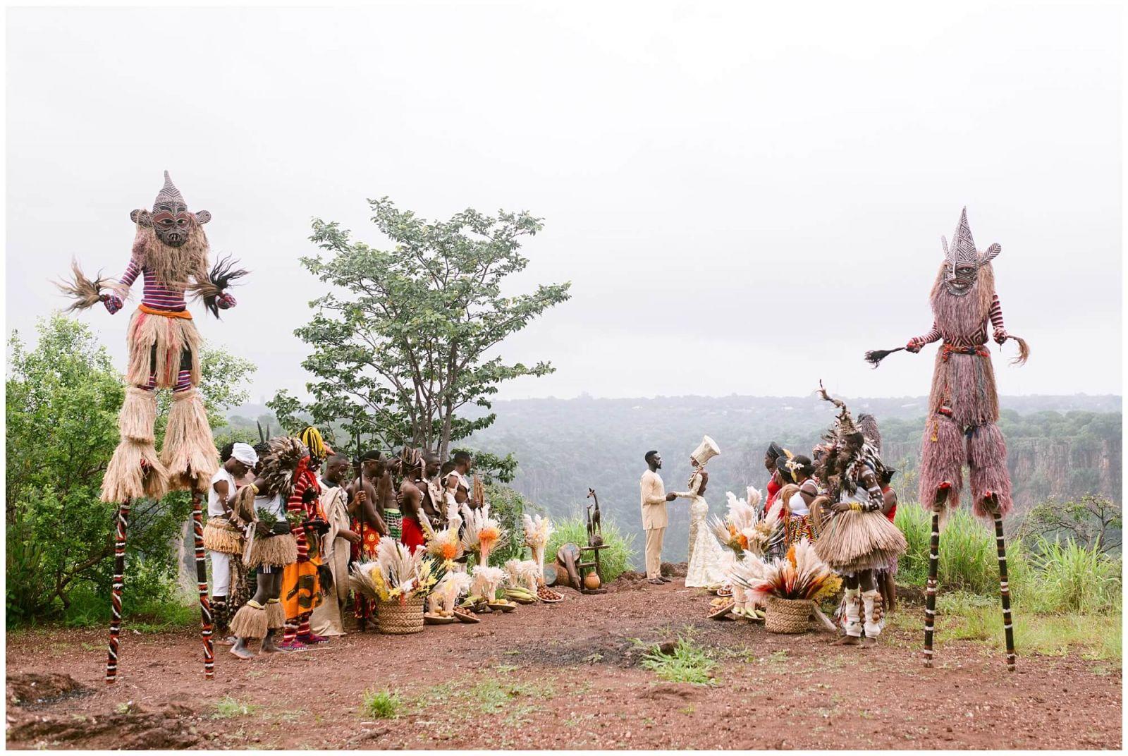 Destination wedding photographer in Africa