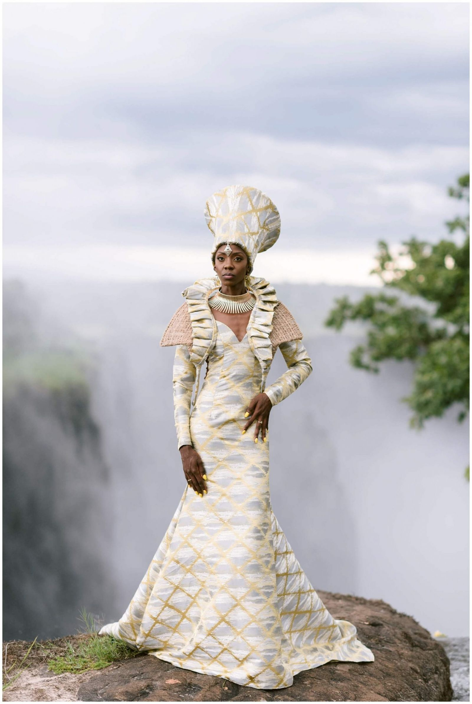 African destination wedding in Zambia